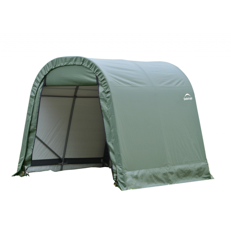 ShelterLogic 10x16x8 Round Style Shelter, Green (77824)