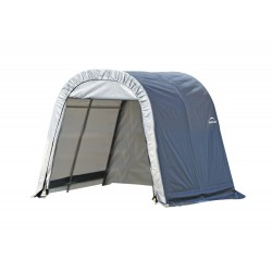Shelter Logic 11x16x10 Round Style Shelter, Grey (77821)