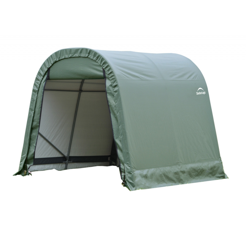 Shelter Logic 11x16x10 Round Style Shelter, Green (77829)