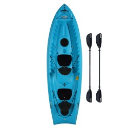 Lifetime Envoy 106 Sit-On-Top Tandem Kayak - Glacier Blue w/ Paddles (90931)
