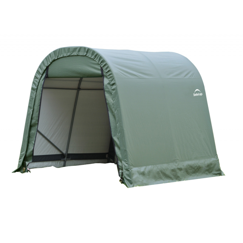 ShelterLogic 11x12x10 Round Style Shelter, Green (77827)