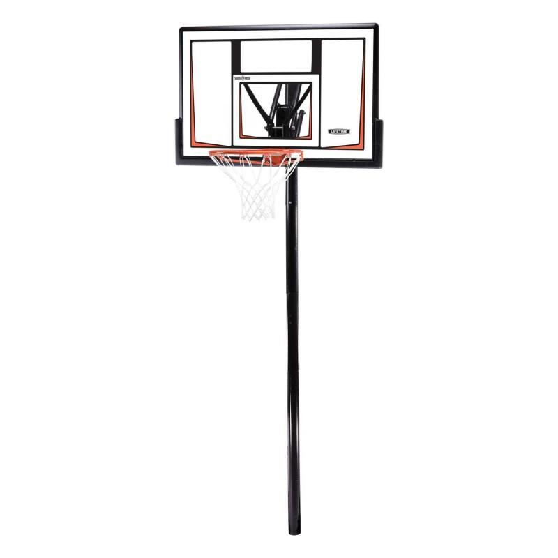 Lifetime 50'' Adjustable In-Ground Basketball Hoop (90679)