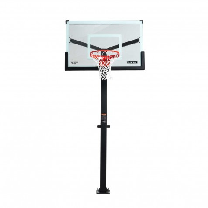 Lifetime 54 inch Mammoth Glass Basketball Hoop (90965)