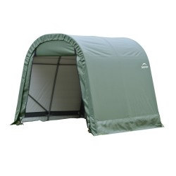 Shelter Logic 11x8x10 Round Style Shelter, Green (77822)