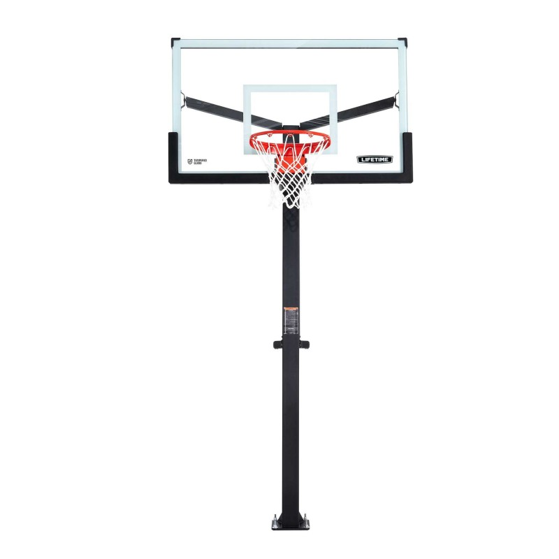 Lifetime 60 Inch Mammoth Glass Basketball Hoop (90916)
