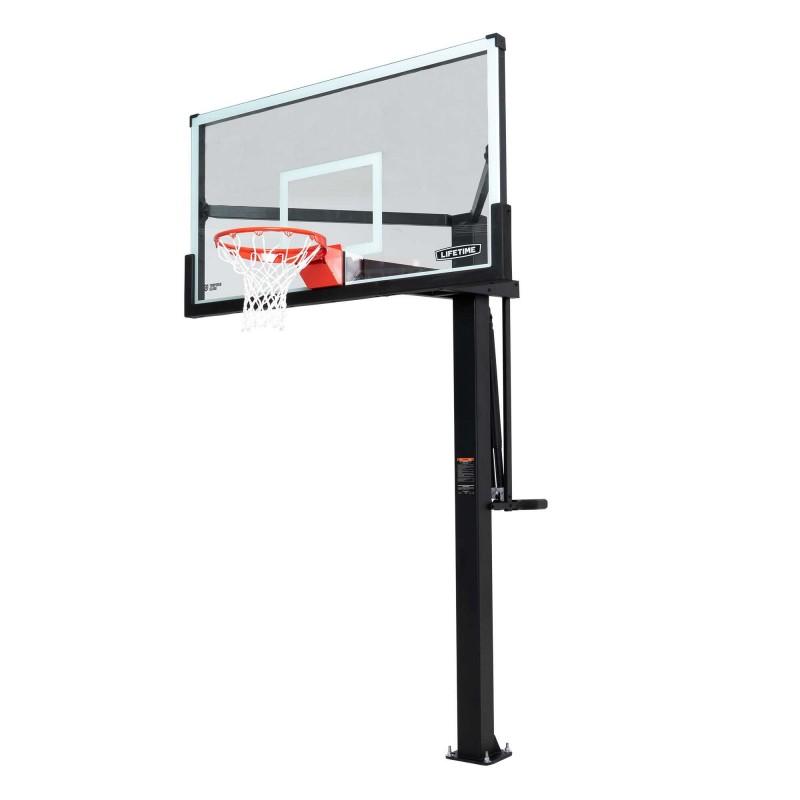 Lifetime 72 Inch Mammoth Glass Basketball Hoop (90964)