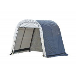 Shelter Logic 11x12x10 Round Style Shelter, Grey (77820)