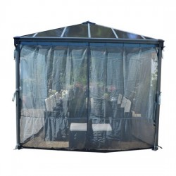 Palram Palermo Gazebo Netting Set - 4 Piece (HG1056)