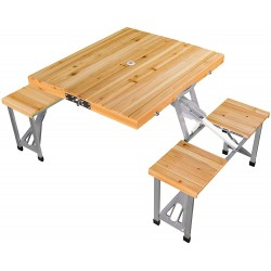 Leisure Season Portable Folding Picnic Table (PFT12)