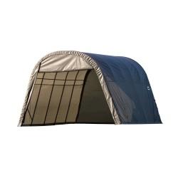 Shelter Logic 13x20x10 Round Style Shelter, Grey (73332)