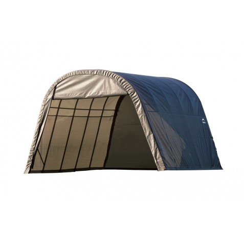 ShelterLogic 13x20x10 Round Style Shelter, Grey (73332)