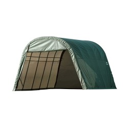 Shelter Logic 13x24x10 Round Style Shelter, Green (74342)