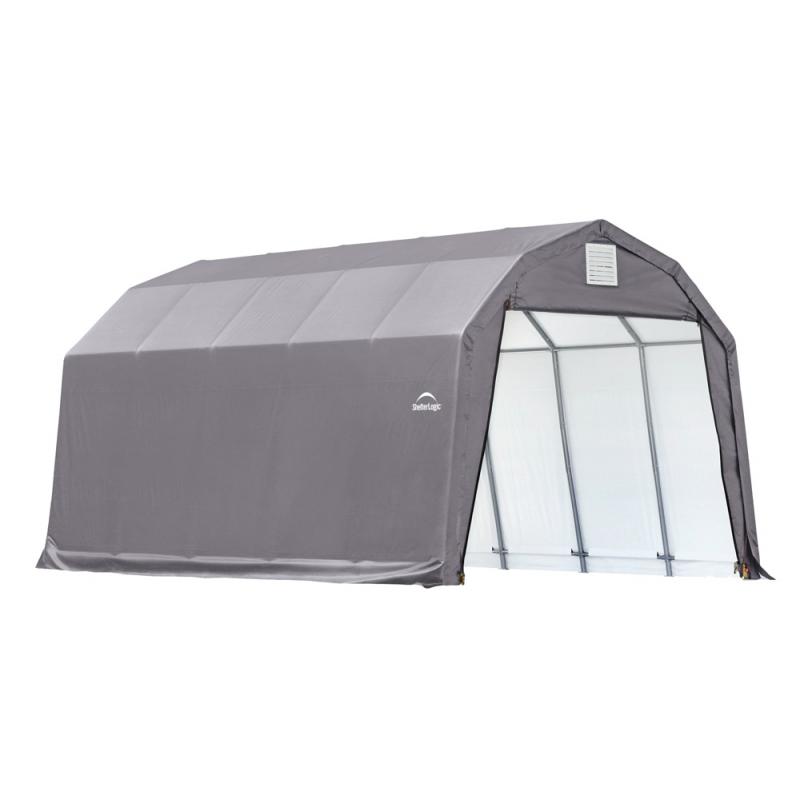 Shelter Logic 12x20x11 Barn Shelter, Grey (90053)