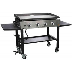 Blackstone 36in. Griddle Cooking Station w/ Stainless Steel Front Plate (1565)