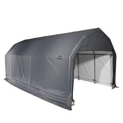 Shelter Logic 12x28x11 Barn Shelter, Grey (90253)