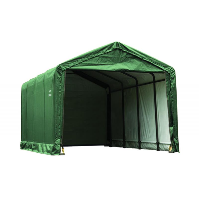 Shelter Logic 12x20x11 ShelterTUBE Storage Shelter, Green (62809)