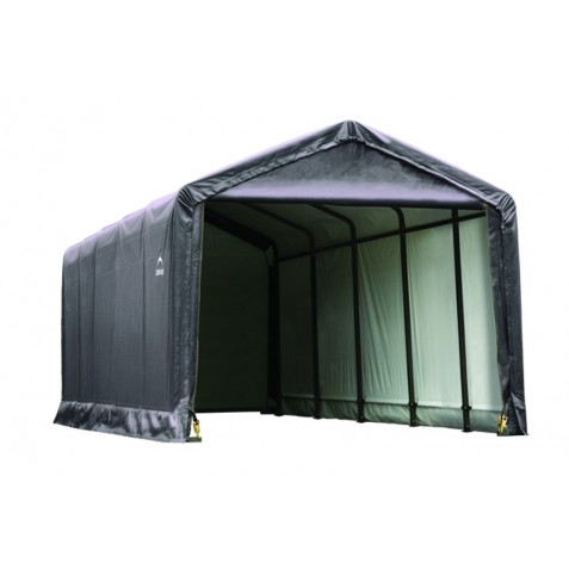 ShelterLogic 12x25x11 ShelterTUBE Storage Shelter, Grey (62807)