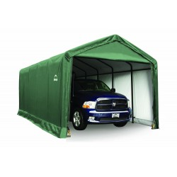 Shelter Logic 12x25x11 ShelterTUBE Storage Shelter, Green (62810)