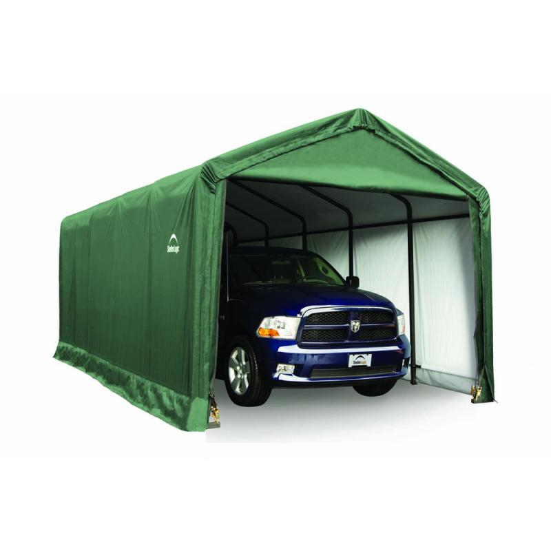 ShelterLogic 12x25x11 ShelterTUBE Storage Shelter, Green (62810)