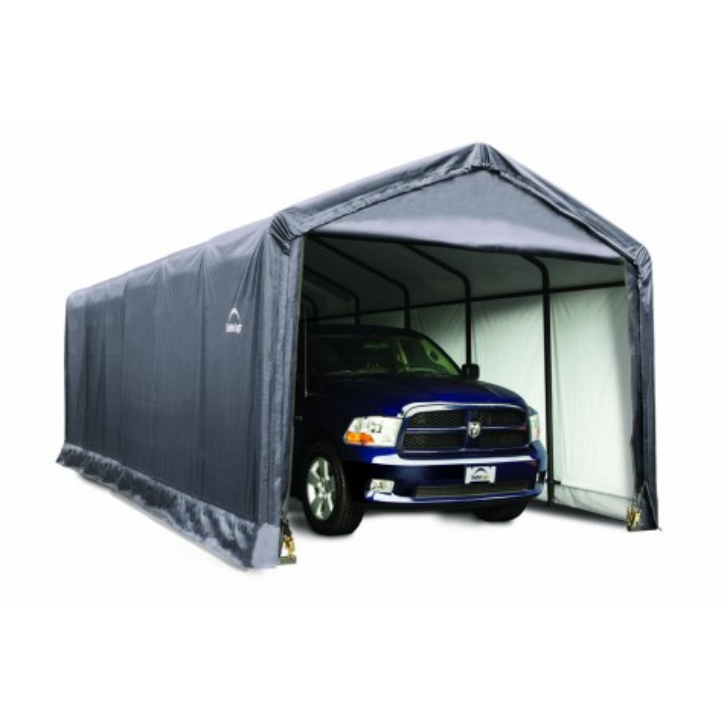 ShelterLogic 12x30x11 ShelterTUBE Storage Shelter, Grey (62808)