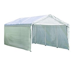 Shelter Logic 10'×20' Enclosure Kit Canopy - White (25775)