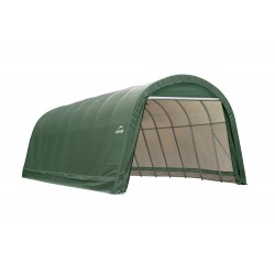 Shelter Logic 14x24x12 Round Style Shelter, Green (95361)