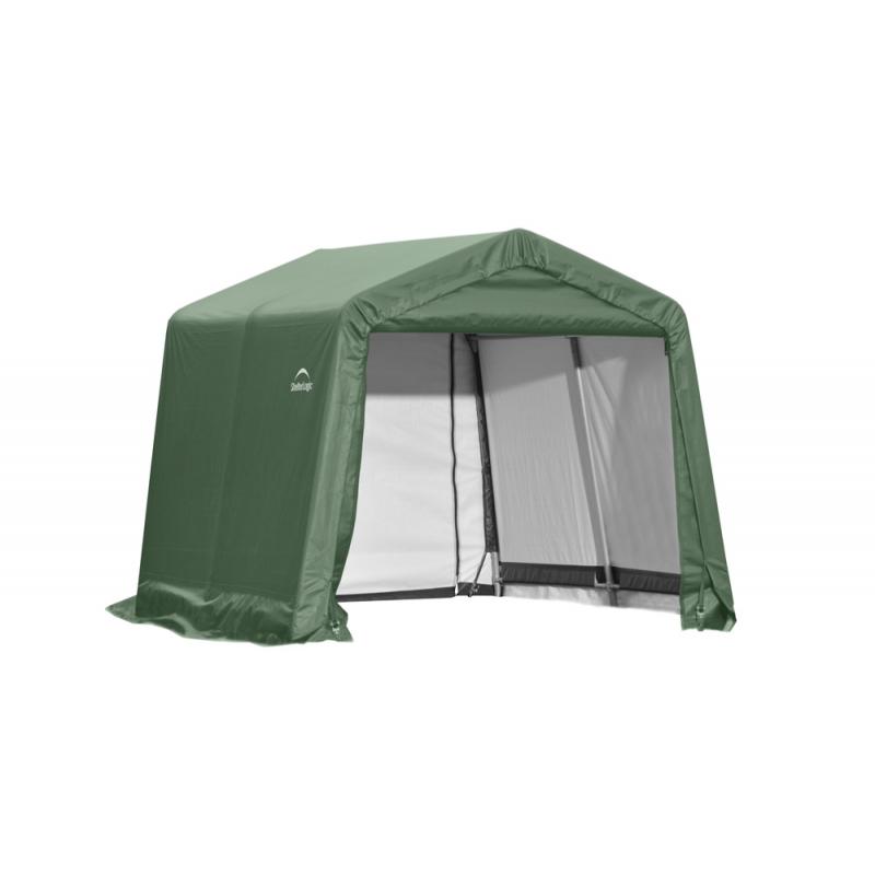 ShelterLogic 10x8x8 Peak Style Shelter, Green (72804)