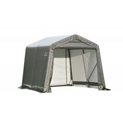 ShelterLogic 8x12x8 Peak Style Shelter, Grey (71813)
