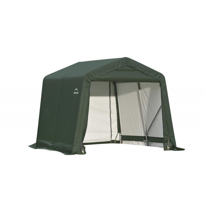 ShelterLogic 8x16x8 Peak Style Shelter, Green (71824)