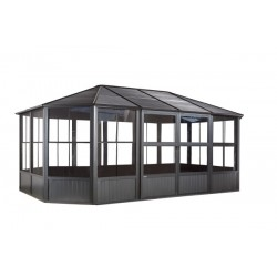 Sojag 12x18 Charleston Solarium Outdoor Gazebo Kit (448-9163018)
