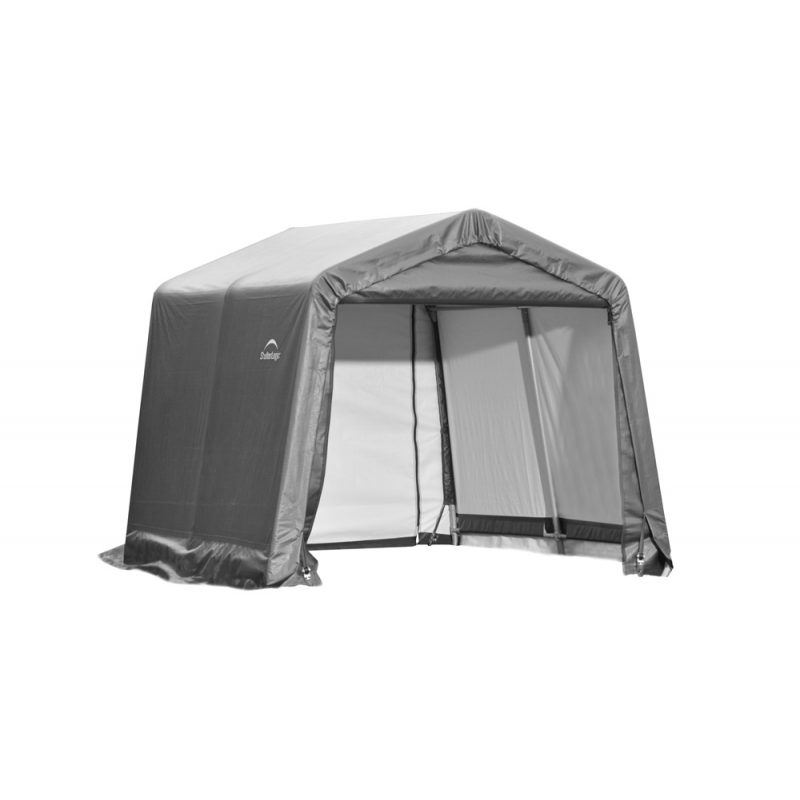 Shelter Logic 11x16x10 Peak Style Shelter, Grey (72873)
