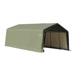 ShelterLogic 12x20x8 Peak Style Shelter, Green (71444)