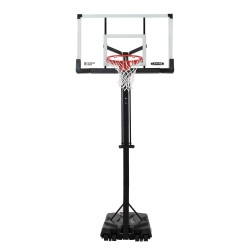 Lifetime 54-inch Tempered Glass Adjustable Portable Basketball Hoop (90734)