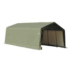 Shelter Logic 13x20x10 Peak Style Shelter, Green (73442)
