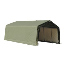 ShelterLogic 13x20x10 Peak Style Shelter, Green (73442)
