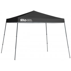 Quik Shade 11x11 Solo Steel 72 Canopy Kit - Black (164296DS)