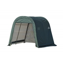 Shelter Logic 8x8x8 Round Style Shelter, Green (76804)