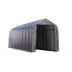 Shelter Logic 14x40x16 Peak Style Shelter, Grey (95843)
