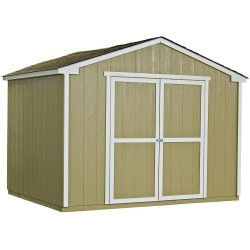 Handy Home Cumberland 10x16 Wood Storage Shed Kit (18285-3)