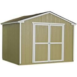 Handy Home Cumberland 10x8 Wood Storage Shed w/ Floor (18282-2)