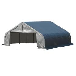 ShelterLogic 22x20x11 Peak Style Shelter, Grey (78431)
