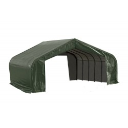 ShelterLogic 22x20x13 Peak Style Shelter, Green (82044)