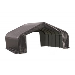 Shelter Logic 22x28x13 Peak Style Shelter, Grey (82243)