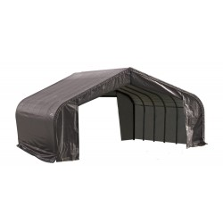 Shelter Logic 22x20x13 Peak Style Shelter, Grey (82043)