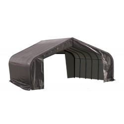ShelterLogic 22x20x13 Peak Style Shelter, Grey (82043)