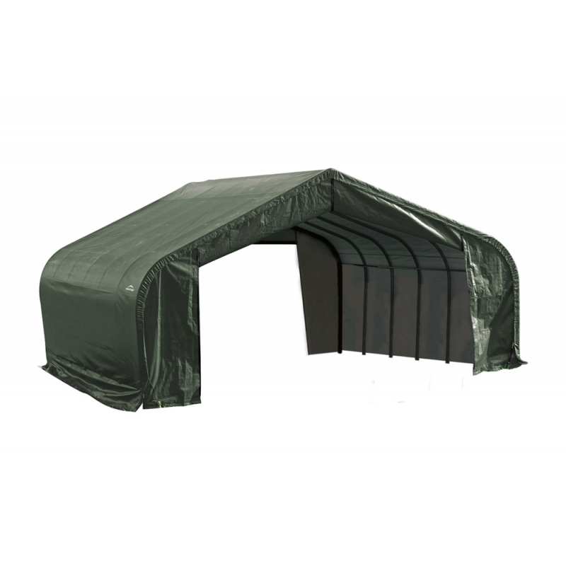 Shelter Logic 22x24x11 Peak Style Shelter, Green (78641)