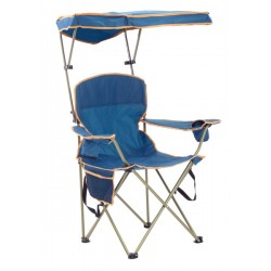 Quik Shade Max Shade Folding Chair - Navy (160070DS)