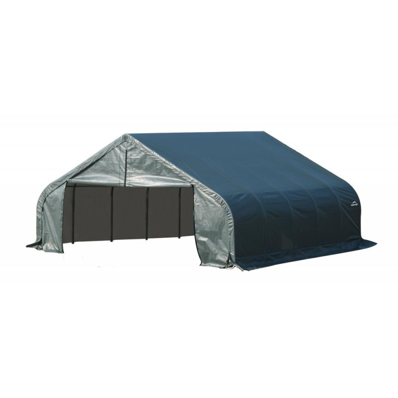 Shelter Logic 22x20x11 Peak Style Shelter, Green (78441)