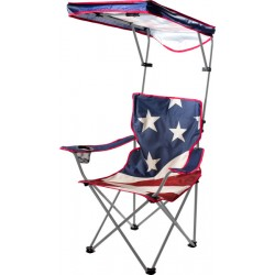 Quik Shade US Flag Shade Folding Chair (160086DS)