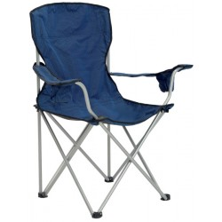Quik Shade Deluxe Quad Folding Chair - Navy/Black (137622DS)